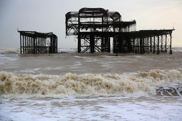 The West Pier - Photo by Nigel Bowles of Connors 01273 486851
