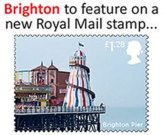 Palace Pier stamp