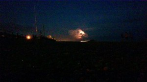Rana Dincer's picture of the storm