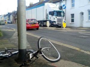 cycle crash north street