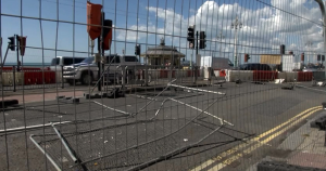 Seafront roadworks 201410