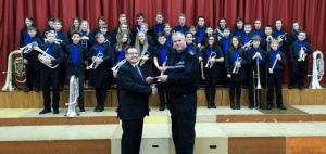Hangleton Band receives £250 from Sussex Police
