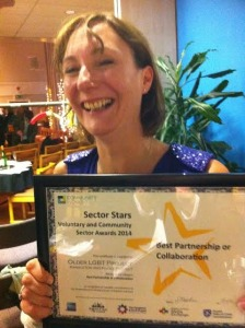 Award winner: Hangleton and Knoll Project chief executive Jo Martindale