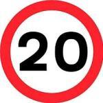 Logo 20mph sign