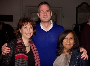 Nancy Platts, Peter Kyle and Purna Sen