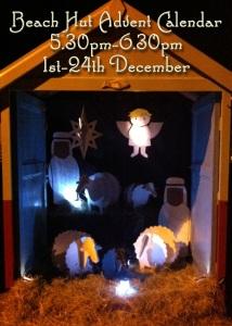 Beach Hut Advent Calendar 2014