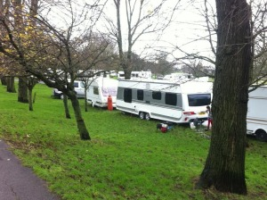Hove Park travellers 20141217-1