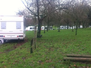 Hove Park travellers 20141217-2