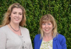 Coastal Communities Minister Penny Mordaunt with former Brighton councillor Maria Caulfield who is standing for Parliament in Lewes