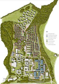 The Sussex University campus masterplan