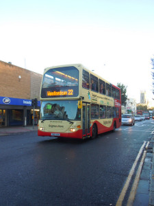 The number 22 bus to Woodingdean by Matt Davis on Flickr