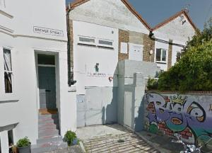 The Brighton Sea Cadets unit in Brewer Street. Image taken from Google Streetview
