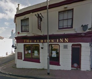 The Albion Inn. Picture taken from Google Streetview
