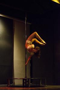 Chloe Anderson in action