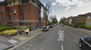 Somerhill Road. Picture taken from Google Streetview