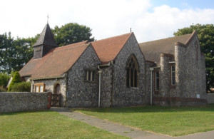 St Peter's West Blatchington - picture by The Voice of Hassocks via Wikimedia Commons