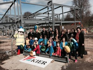 Bilingual Primary School children, staff and supporters at Hove Park site 20150327-1