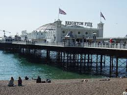 Brighton's Palace Pier. Picture taken from Wikimedia Commons.