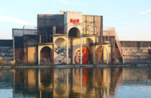 The winning photo pictured Grange-over-Sands Lido