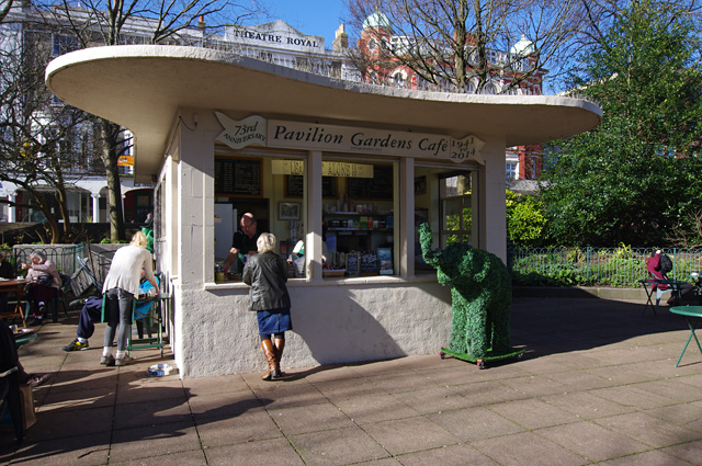 Pavilion Gardens Cafe from geograph.org.uk