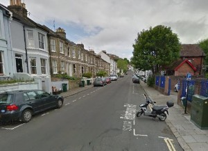 Robertson Road. Picture taken from Google Streetview