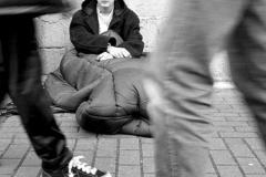 Rough sleepers - from St Peter's Church website