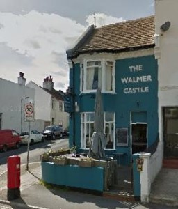 The Walmer Castle. Picture taken from Google Streetview