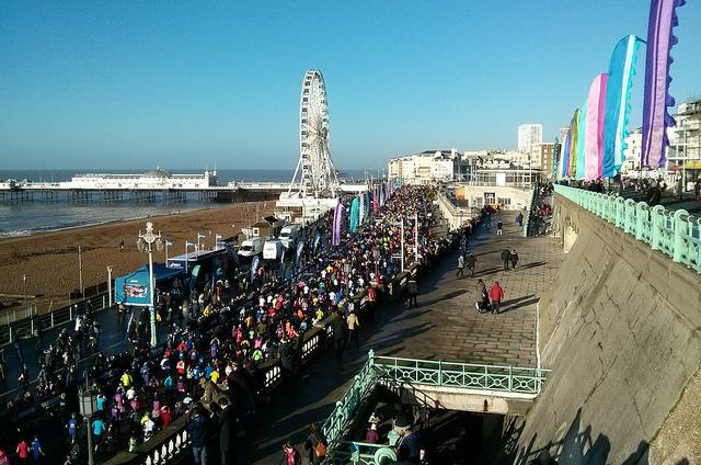 brighton half marathon by Dominic Alves on Flickr