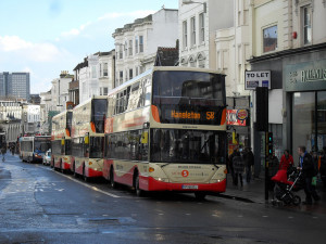 Buses in North Street. Picture by Matt Davis on Flickr