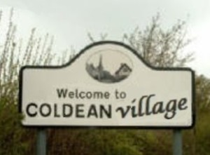 Coldean - how the sign could look