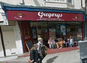 Gregory's cafe. Image taken from Google Streetview
