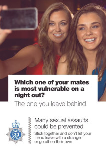 Rape victim poster