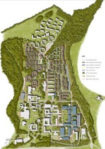 The Sussex University campus masterplan