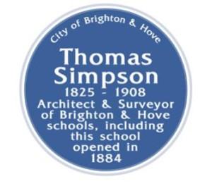 Thomas Simpson Blue plaque