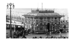 West Pier toll booth - rock shop