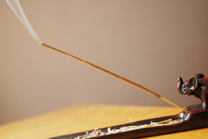 Picture of an incense stick by nyuhuhuu on Flickr