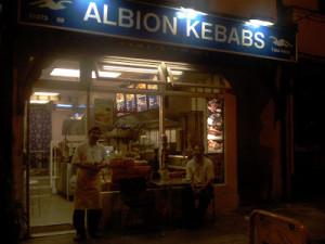 Albion kebabs