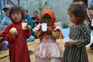 Brighton University - children from Malagiri in Nepal 2