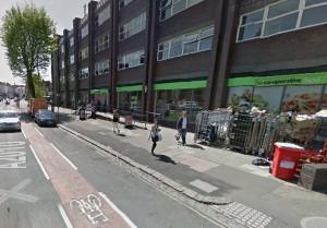 Dyke Road Co-op. Image taken from Google Streetview