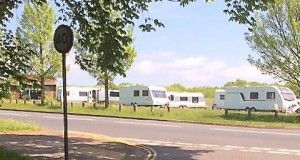 The camp at Hollingbury Park today. Image by BHEAG