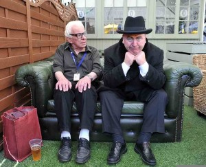 Barry Cryer and Mark Brailsford