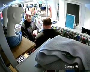 CCTV cashmere theft suspects 2015