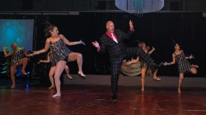 Accountancy boss Barry Carden won a Strictly Come Dancing style charity contest at the Rockinghorse Mid Summer Ball in Brighton