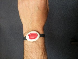 wrist worn alarm image