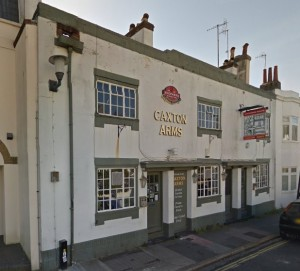 Caxton Arms. Image taken from Google Streetview