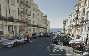 Chesham Place. Image taken from Google Streetview