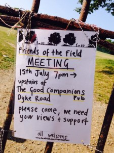 Friends of the Field meeting