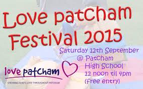 Love Patcham flyer