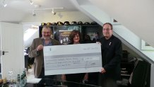Peter James cheque to BHIMS