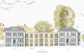 An artist's impression of the Yelo Architects proposal for Southern Housing at 251-253 Preston Road in Brighton